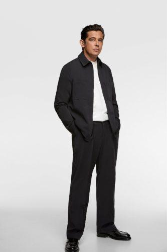 ZARAのTRAVELLER シャツジャケット